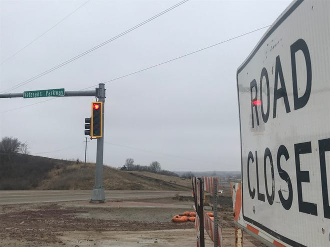 The Department of Transportation is scheduled to finish Veterans Parkway from Rice Street to Interstate 90 this summer.