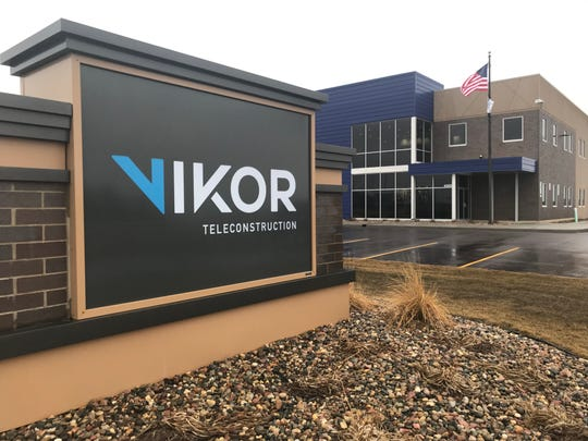 Sioux Falls Tower and Communications rebranded as VIKOR Teleconstruction on Monday to represent its growth at the national level.