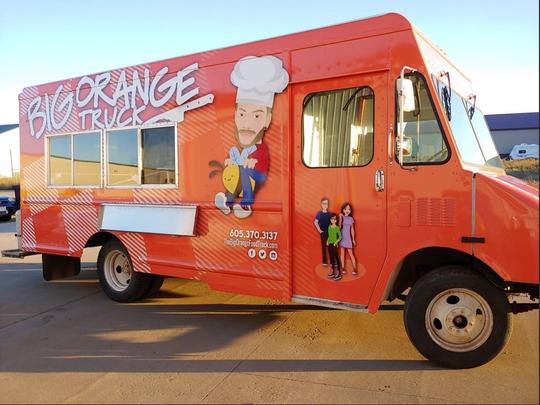 The Big Orange Food Truck