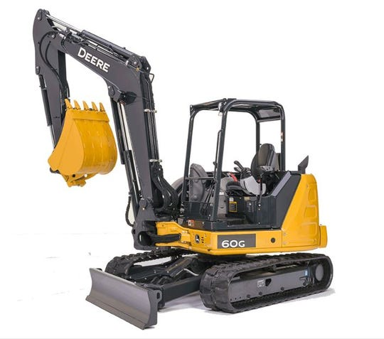 An excavator similar to the one Virginia State Police say was stolen from a construction site in Augusta County.