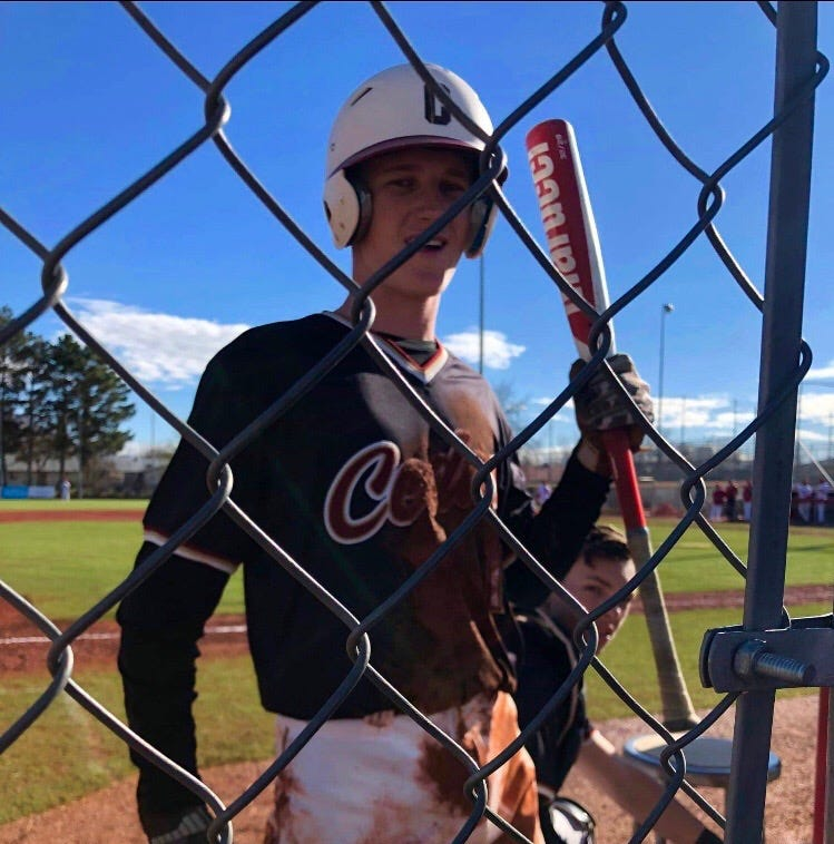 Cedar Sophomore says he's 'really lucky' after taking a pitch to the face