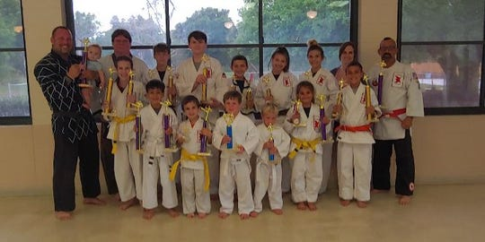 LaSala's Dojo/ Karate for Christ competed at the Vero Beach Karate Association Tournament on March 2.
