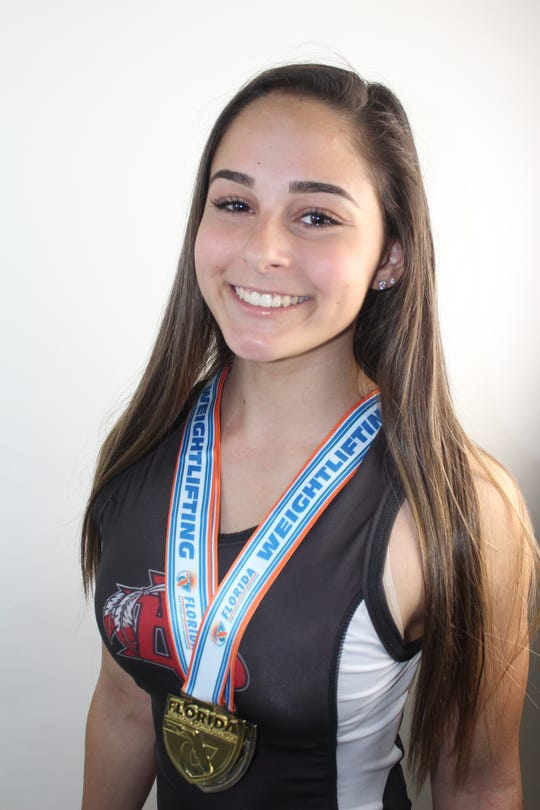 Alyssa Depalo, a sophomore at Vero Beach, claimed the 101-pound state championship in Class 2A.