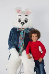 The Easter Bunny is in town. Don't miss your chance for pictures.