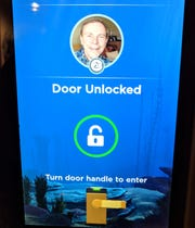 No need to fumble with a keycard. As you approach your stateroom, your photo pops up on a screen adjacent to your door and you hear the door being unlocked for you. This is just one of many high-tech innovations being introduced on Princess Cruises made possible by a wearable medallion about the size of a quarter.