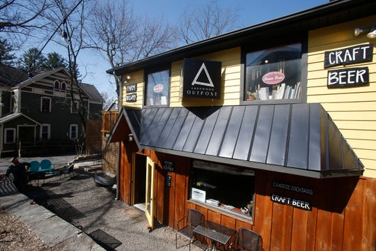The Outpost, Arrowood Farm-Brewery's tasting room in New Paltz on April 3, 2019.