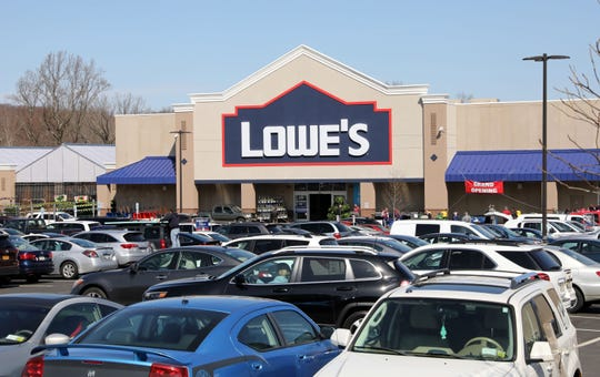 Lowe's home improvement store celebrates its grand opening in Yorktown April 3, 2019.