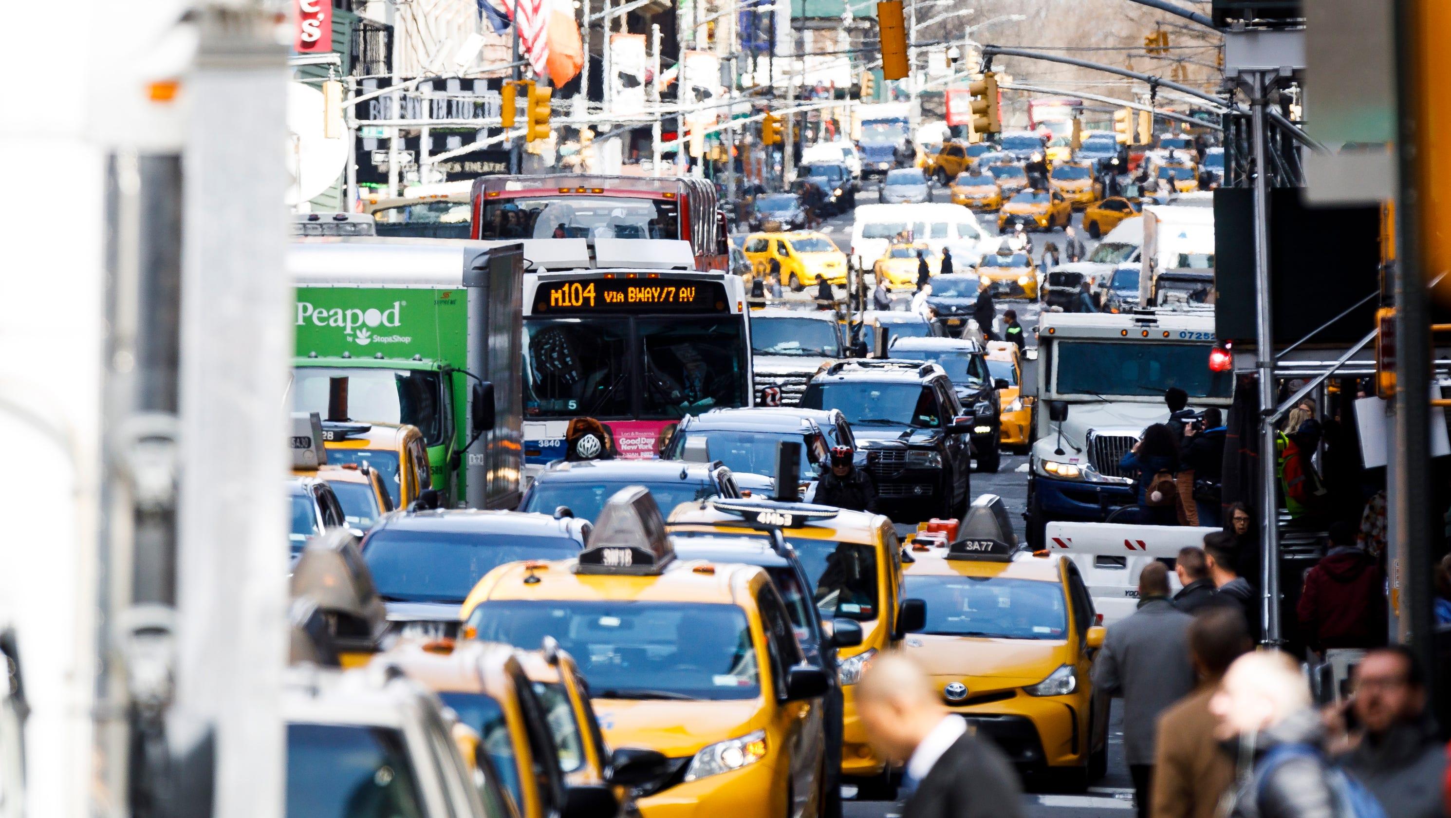 Philadelphia considering tolls to drive into city's busiest