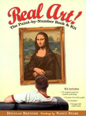 Cover of the paint-by-number kit Real Art, from 2004.