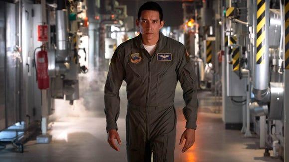 "Gabriel Luna has the icy killer look of a new Terminator villain in ""Dark Fate."""