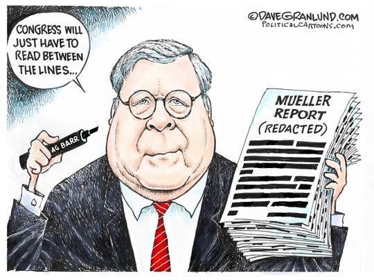 Mueller Report redactions