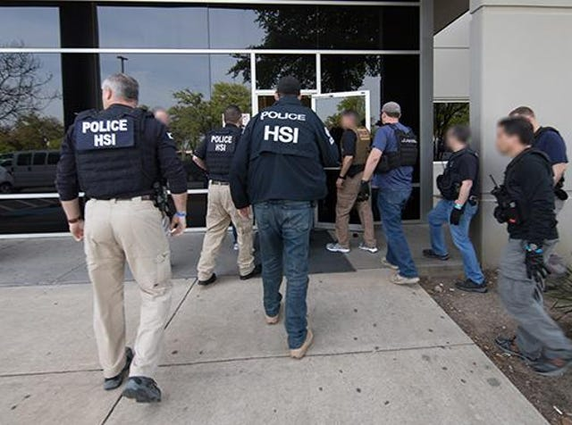 ICE arrests: In Texas, biggest immigration bust in decade at CVE Tech