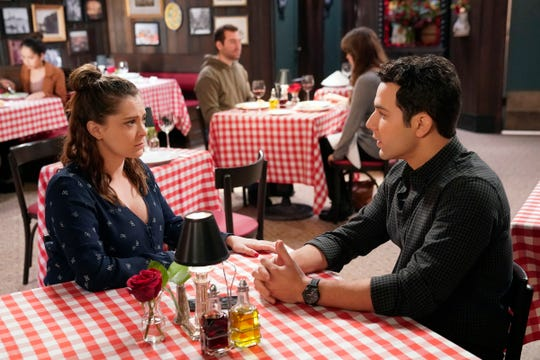 Rebecca explains to Greg (Skylar Astin) that she can't get serious with him right now; she needs to focus on herself and her music.