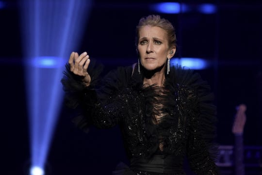 Celine Dion announces the Courage World Tour, set to kick-off on September 18, 2019, during a special live event at The Theatre at Ace Hotel on Wednesday, April 3, 2019.