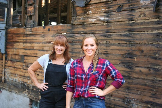 """Karen E. Laine and her daughter, Mina Starsiak-Hawk, are the team behind HGTV's """"Good Bones,"""" which highlights their efforts to revitalize a southeast Indianapolis community one house at a time."""