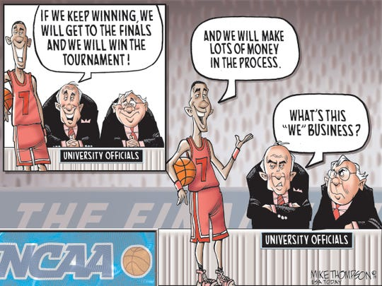 Mike Thompson, USA TODAY The cartoonist's homepage, www.usatoday.com/opinion/