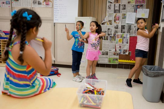 Many parents work hard to figure out fun and fulfilling summer activities that beat summer slide but also don't break the bank. Children in a summer class in Kennett Square, Pa., on July 21, 2014.