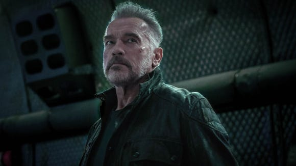 "Original ""Terminator"" star Arnold Schwarzenegger is back once again in the upcoming sixth film, ""Dark Fate."""