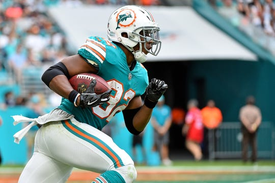 Kenyan Drake has the Dolphins back in the 2018 season.