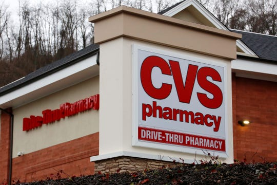 A CVS Pharmacy location is shown in Pittsburgh.