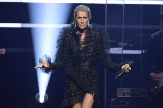 Celine Dion announces her Courage world tour, set to kick off on Sept. 18, 2019, during a special live event at The Theatre at Ace Hotel on Wednesday.