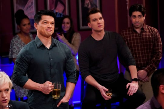 Grab some drinks, Josh Chan (Vincent Rodriguez III) and Nathaniel (Scott Michael Foster ), we're about to dish on the end of the show.