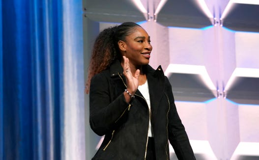 Serena Williams says that raising a wild child isn't necessarily a bad thing.