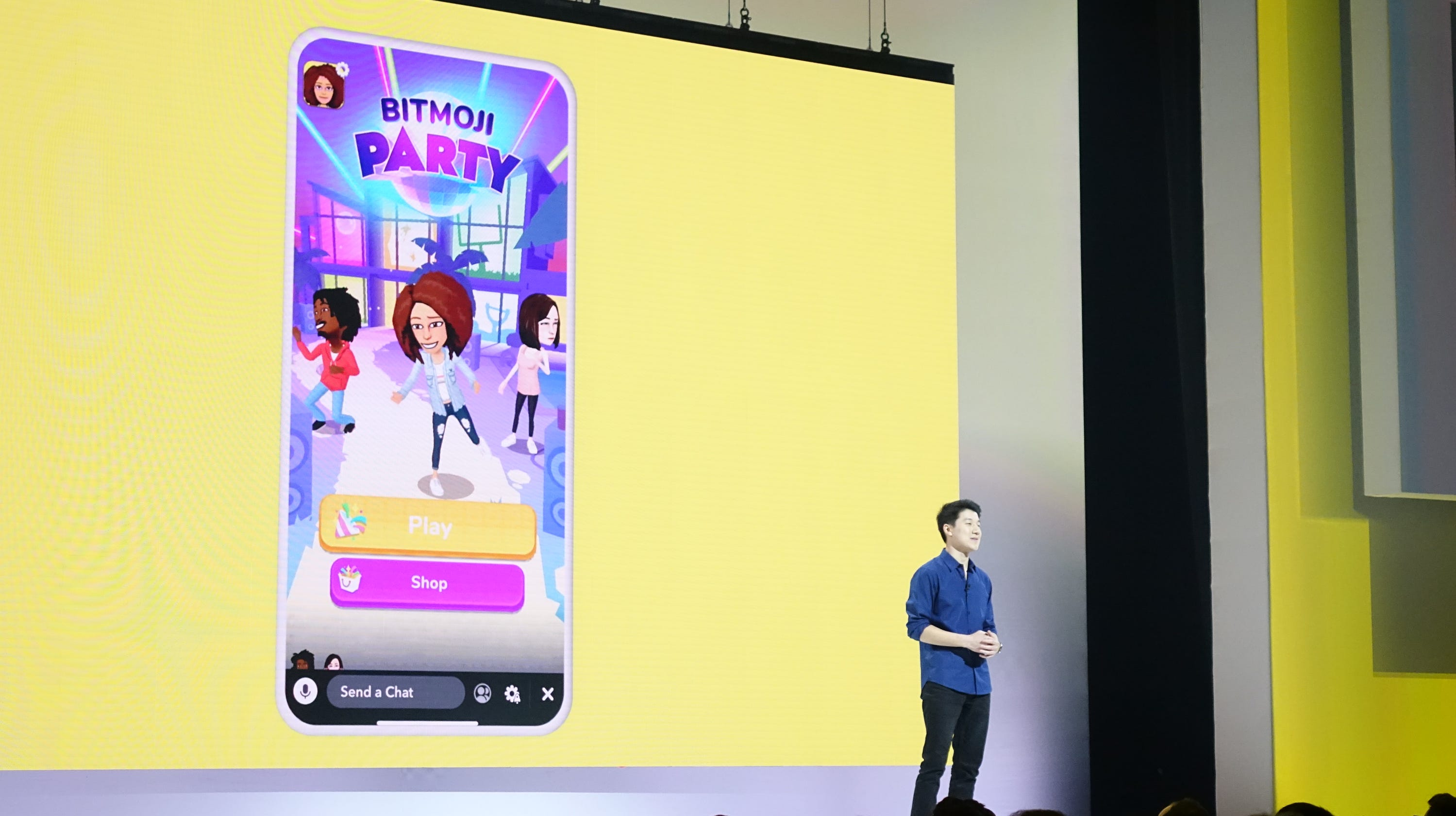 Snapchat: With Bitmoji Party game, Snap hopes young viewers stick around