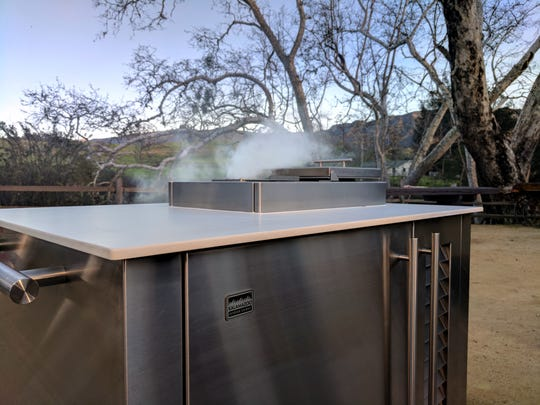 Some outdoor kitchen amenities, such as smokers, are intended specifically for exterior use.