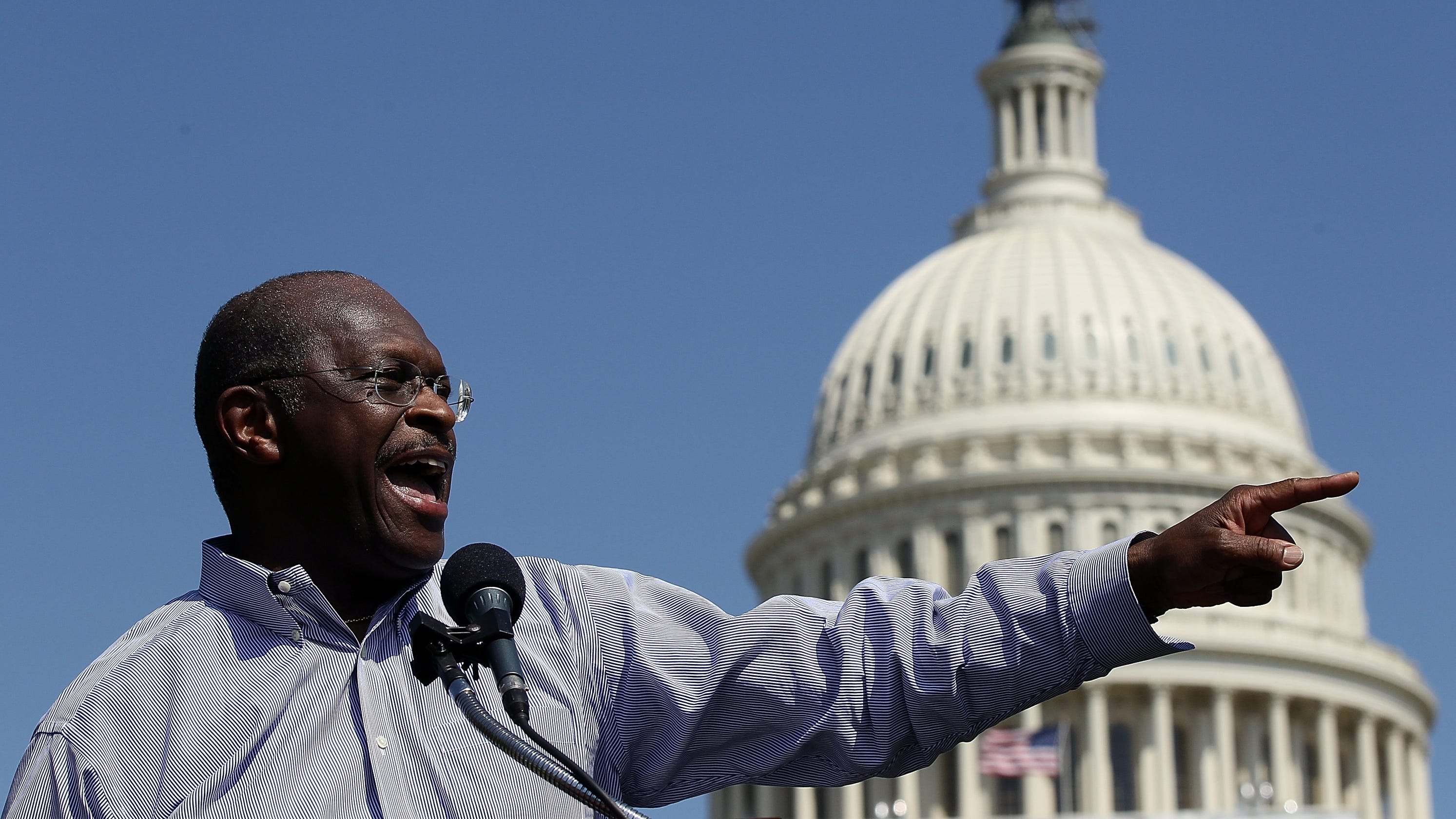 Donald Trump To Name Herman Cain For Federal Reserve Post
