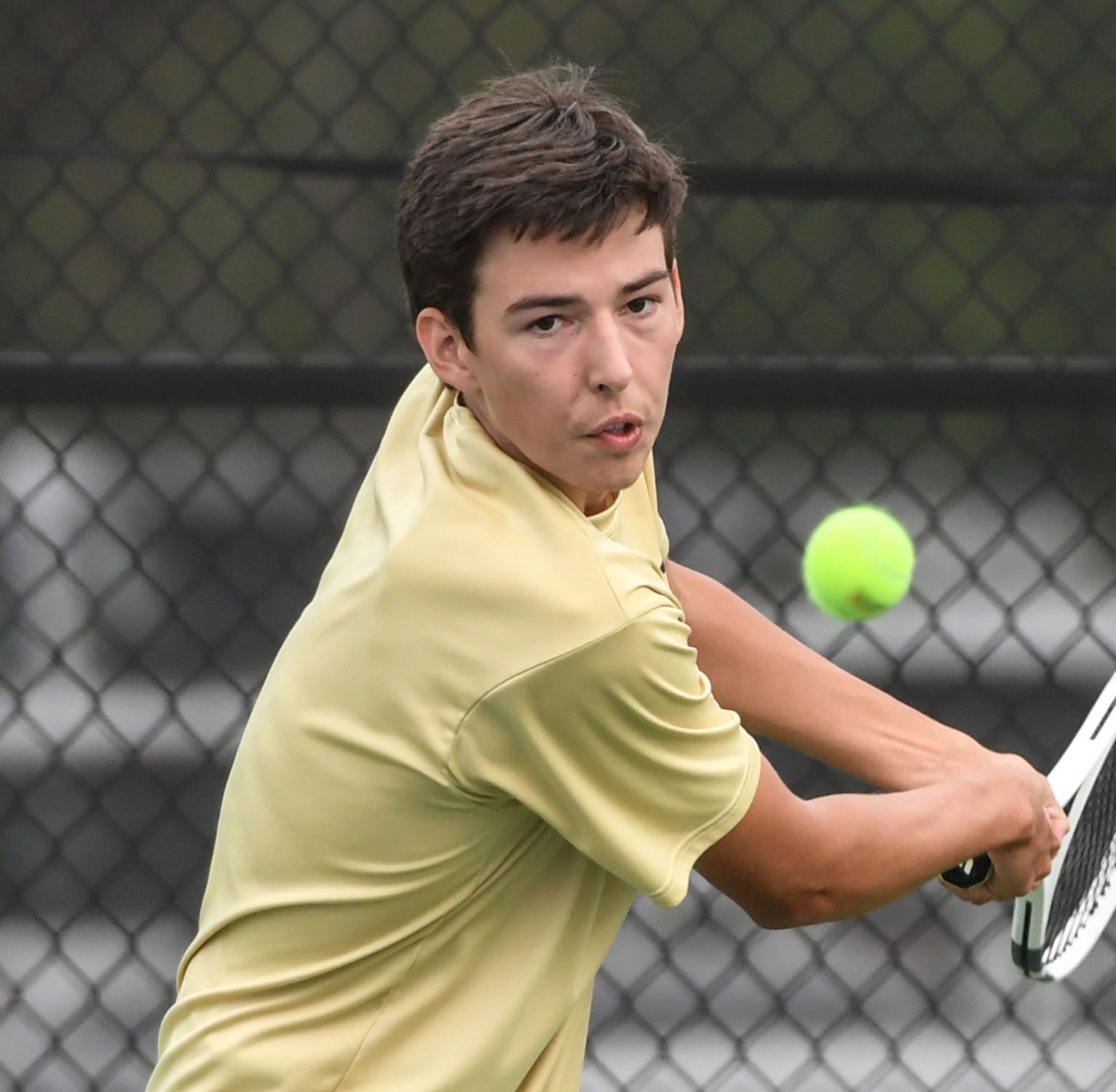 After impressive regular season, T.L. Hanna tennis eyes playoffs