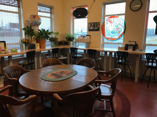 Inside Mudd Creek Bake House at Uncommon Grounds in Grand Chute.