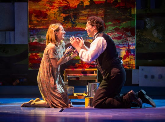 "Hannah Elless and Bryce Pinkham in ""Benny & Joon,"" which will have its East Coast premiere at Paper Mill Playhouse in Millburn through May 5."