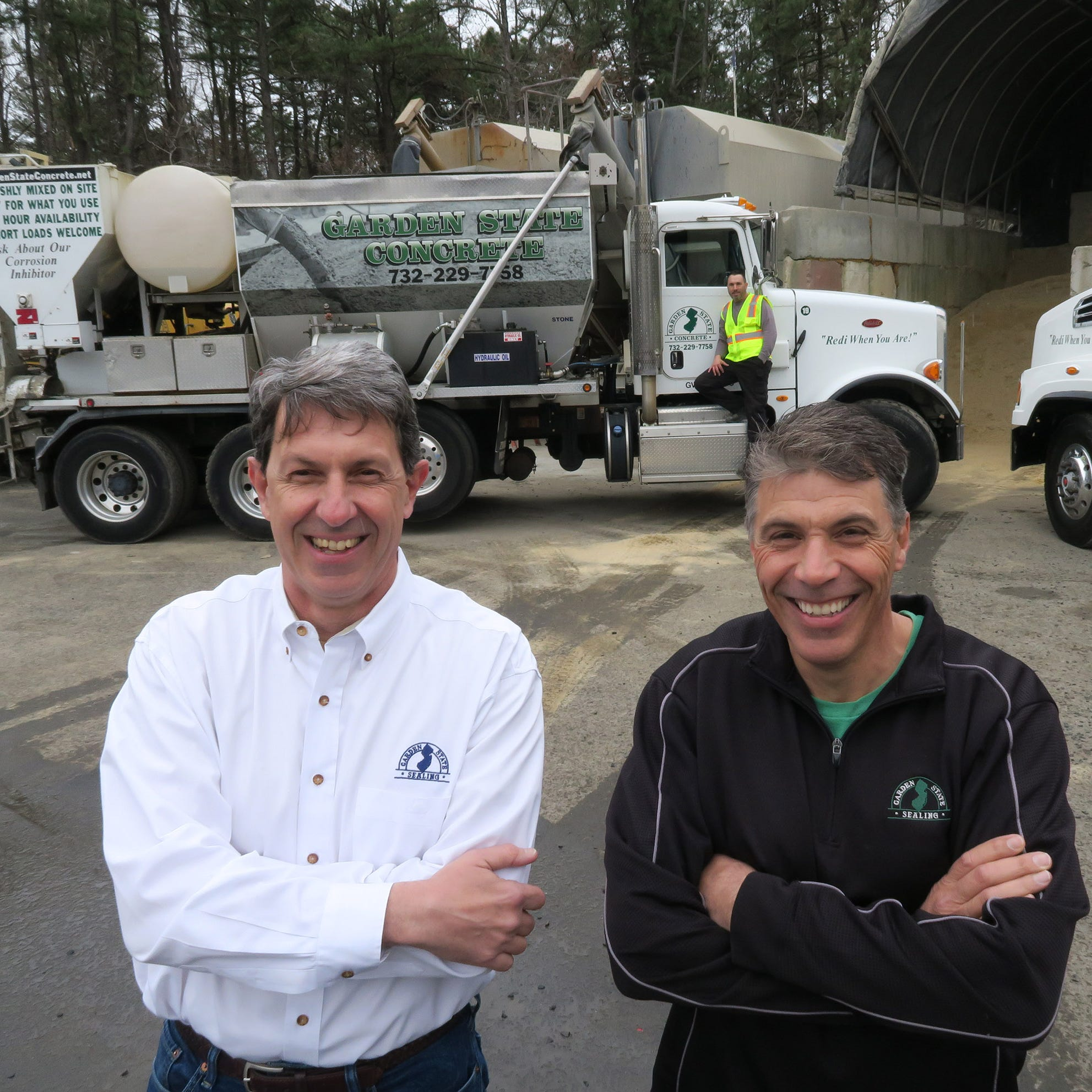 Garden State Concrete in Tinton Falls helped owners get out of the office