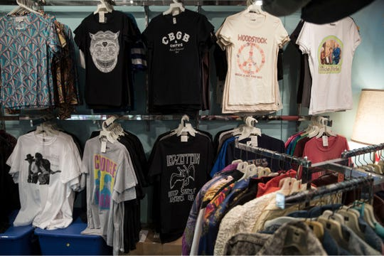 Backward Glances is a Asbury Park business that sells vintage items ranging from clothing to trading cards.