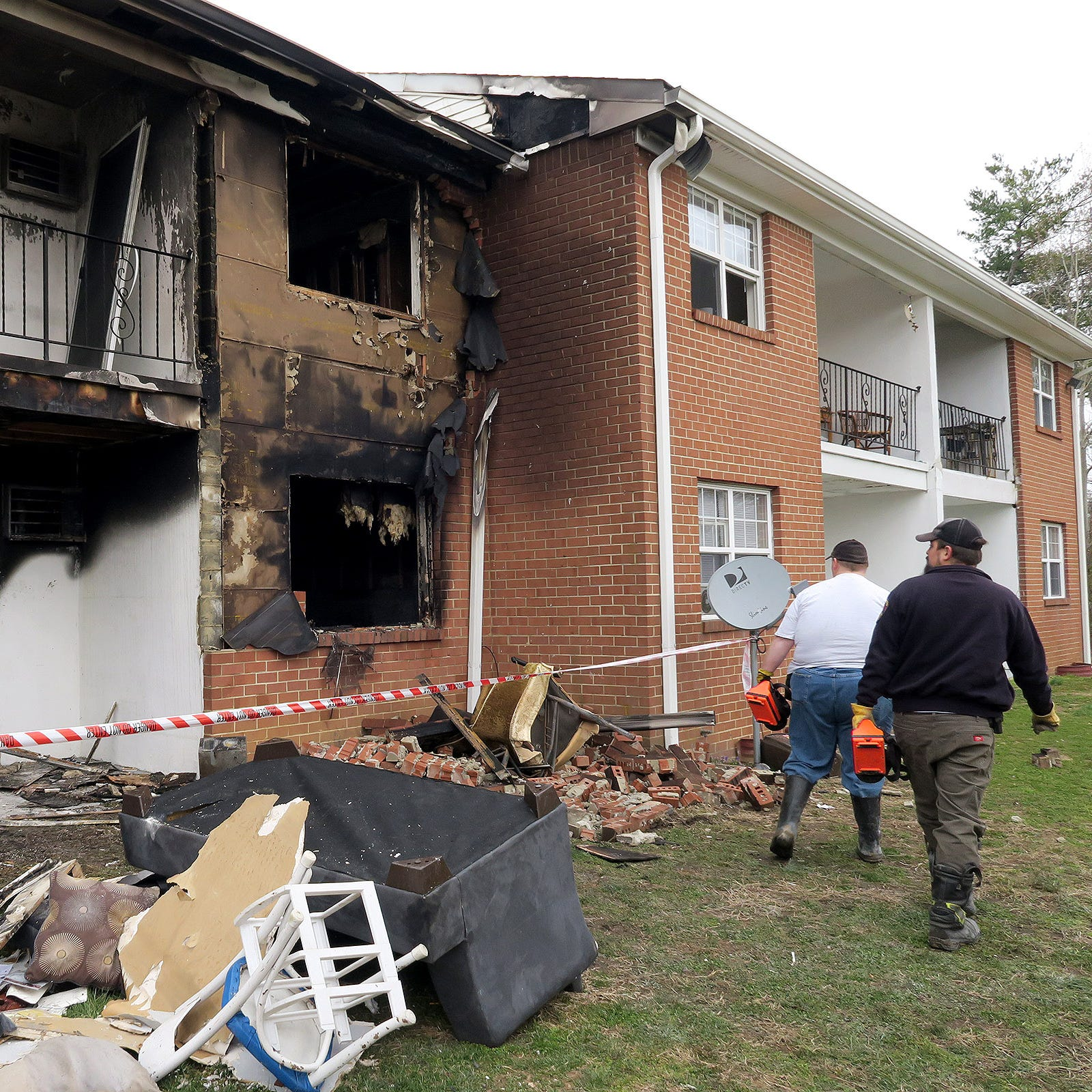 Toms River fire: 14 residents displaced from Jamestowne Village apartments