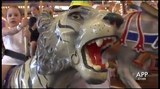 A LOOK BACK (2014): A celebration is held for the 100th birthday of the Dr. Floyd Moreland Carousel un the Casino Pier arcade in Seaside Heights.