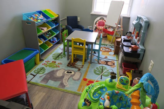 A playroom at the new Family Promise day center.