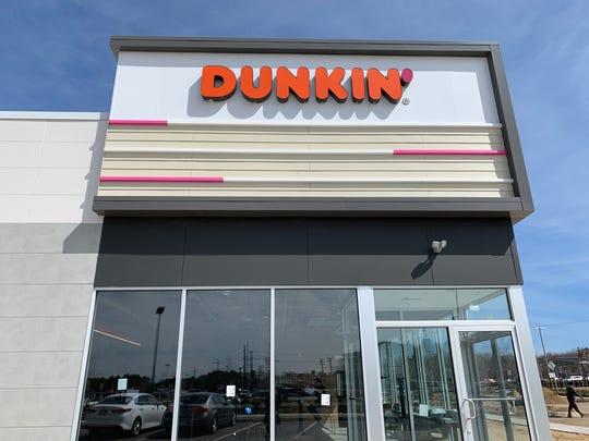A modern Dunkin' is under construction  at Barnegat 67 in Barnegat.