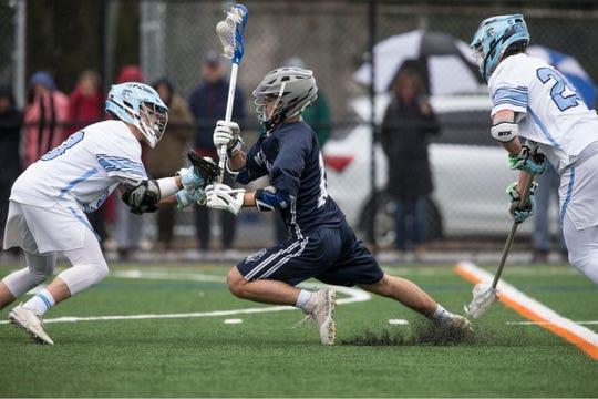 Christian Brothers Academy vs Manasquan boys lacrosse . Manasquan, NJFriday, April 5, 2019