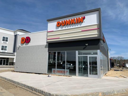 A modern Dunkin' is under construction  at Barnegat 67 in Barnegat.