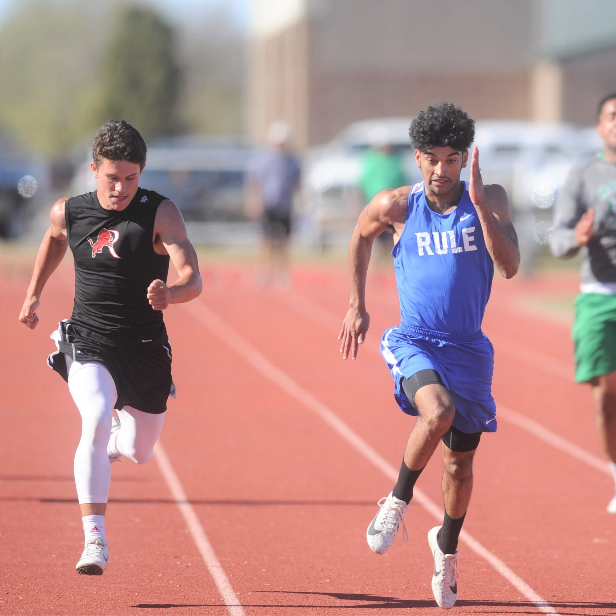 Rule track star Chase Thompson focused on more than individual events as postseason begins