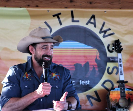 Mark Powell announced Thursday April 4, 2019, that the 9th Outlaws & Legends Music Festival drew a record 12, 322 attendees, up 18 percent from the 2018 show at the Back Porch of Texas.