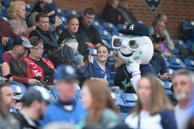 The Asheville Tourists have officially signed with the Houston Astros and will now be a part of a new High-A league. [ANGELI WRIGHT / ASHEVILLE CITIZEN-TIMES]