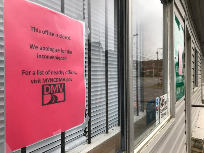 """A potential rent increase and """"staffing concerns"""" have shuttered the drivers license office in downtown Marshall, according to Terry Fuller of the DMV. Fuller said he """"can't say how long the office will be closed."""""""