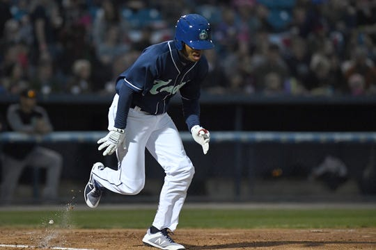 The Asheville Tourists started their 2019 season at McCormick Field with a Thursday Thursday on April 4, 2019.