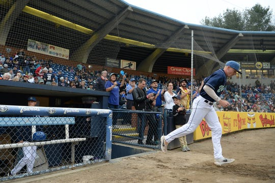 McCormick Field, home of the Asheville Tourists, first opened in 1924 and was rebuilt for the 1992 season. Major League Baseball is calling for improved facilities at many of the Minor League ballparks. This file photo is from opening day in April 2019.