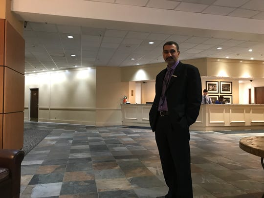 McCamly Plaza Hotel General Manager Nauman Choudhry says the lobby inside the downtown Battle Creek hotel is the next on the list to be renovated.