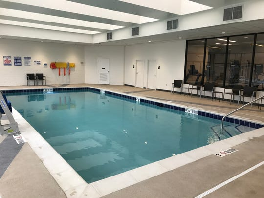 McCamly Plaza Hotel has a new pool area. The hotel is undergoing several renovations to transition into a DoubleTree by Hilton.