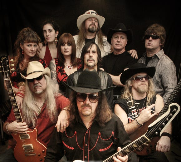 Whiskey River play their Lynyrd Skynyrd tribute as the finale to a three-band lineup July 4.